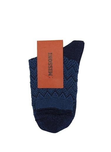 Missoni Çorap Gümüş